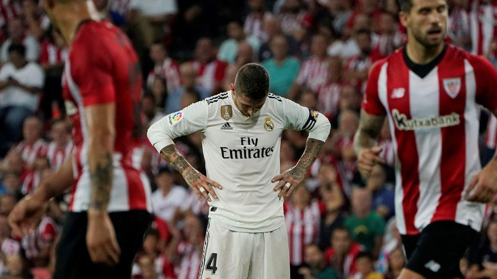 El Real Madrid se deja sus primeros puntos en San Mamés (1-1)
