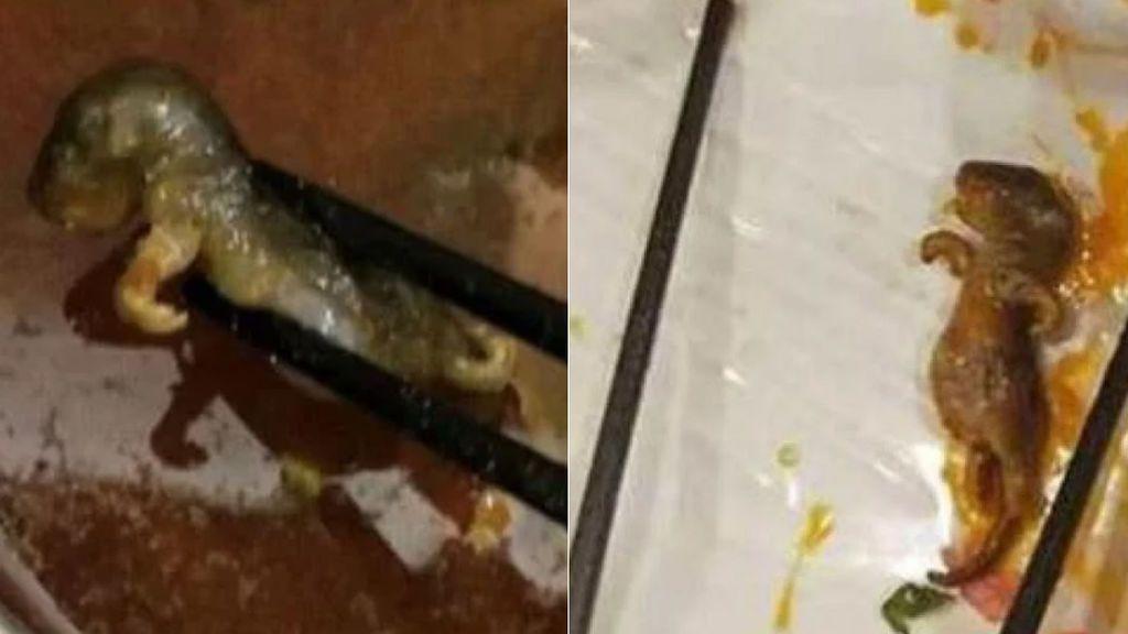 Un restaurante chino registra pérdidas millonarias después de que una clienta descubriese en la comida... ¡una rata hervida!