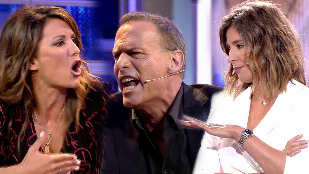Carlos Lozano ataca a Sandra Barneda tras un encontronazo con Nagore Robles