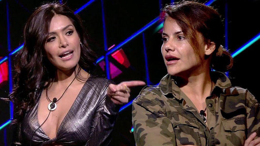 ¡Miriam Saavedra llega a Guadalix y se reencuentra con Mónica Hoyos ente gritos!