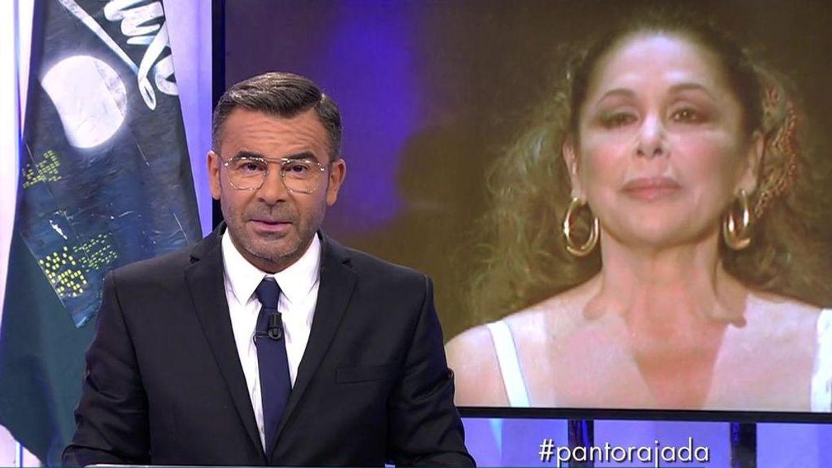"""Jorge Javier Vázquez responde a Isabel Pantoja y no le pide perdón: """"No la quiero en mi vida"""""""