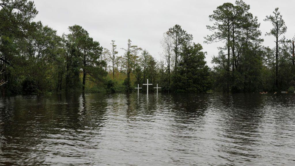 Bajo los efectos de Florence en Carolina del Norte