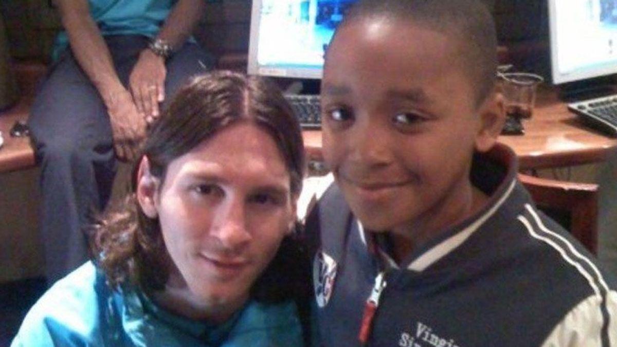 De hacerse una foto con Messi en el hotel, a jugar contra él mañana en la Champions League