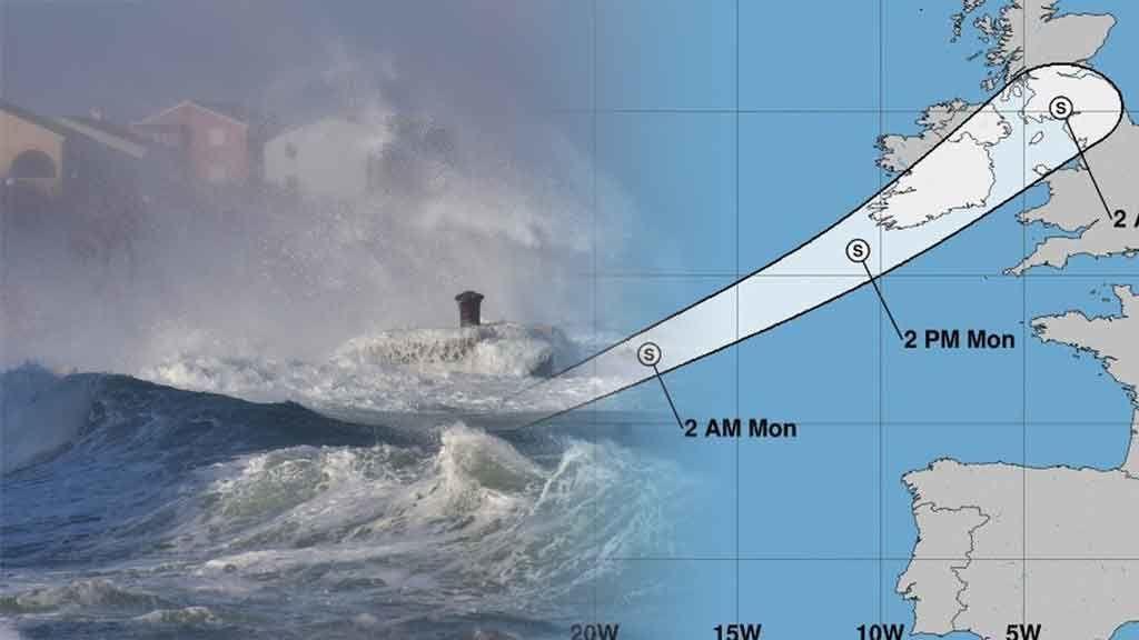La noche del lunes, máxima aproximación de Helene a nuestras costas: te contamos cómo nos afectará