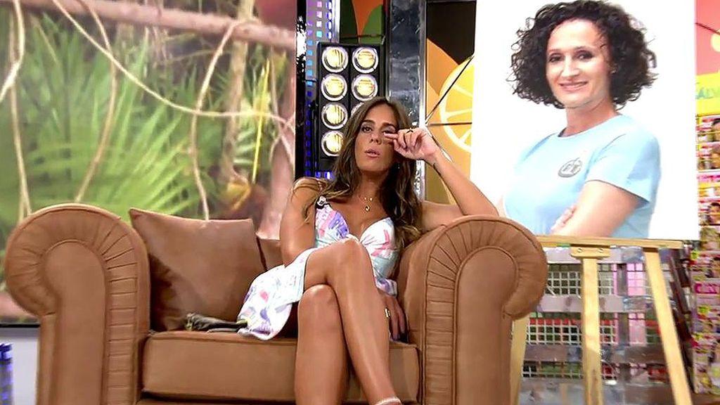 """Anabel Pantoja se emociona y responde a los ataques de Dulce: """"Me parece fuerte que hable como si fueran sus hijos"""""""