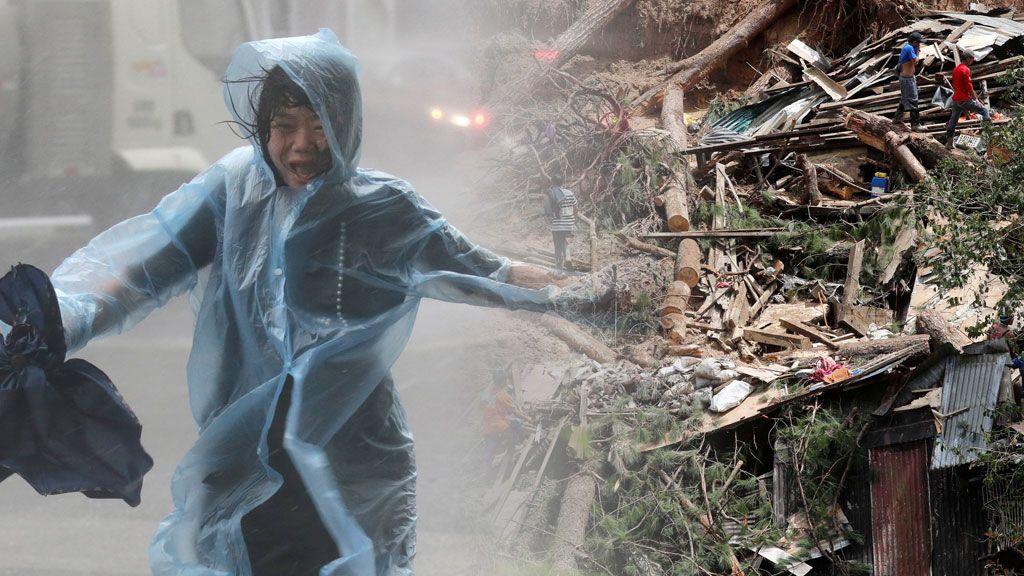 El 'fin del mundo' llega a través del súper tifón Mangkhut a Filipinas y China: qué es este fenómeno