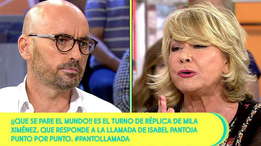 "Mila Ximénez, contra Diego Arrabal: ""¡No me hables de actitudes morales!"""