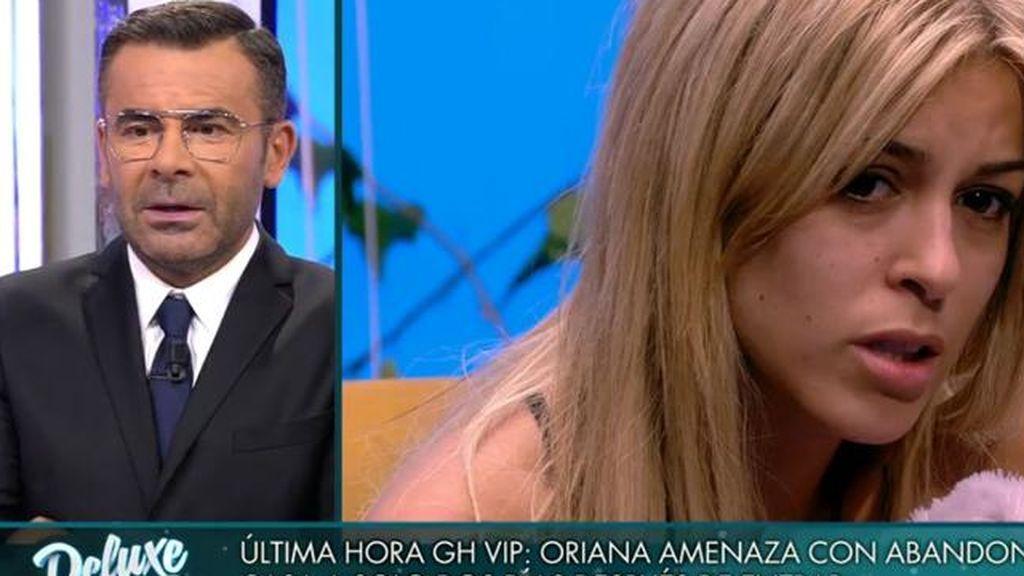 Oriana se explica tras abandonar 'GH VIP'