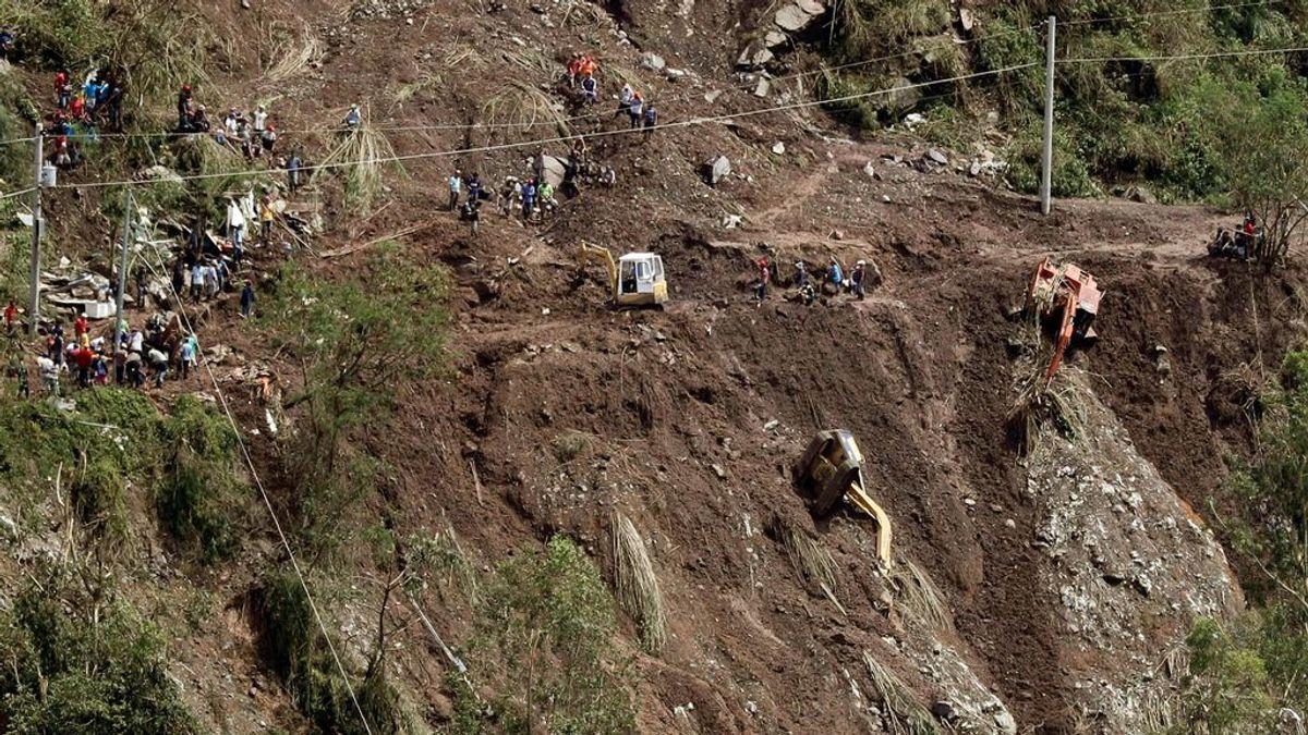 Una mina de oro convertida en tumba: casi un centenar de filipinos sepultados tras el paso del tifón Mangkhut