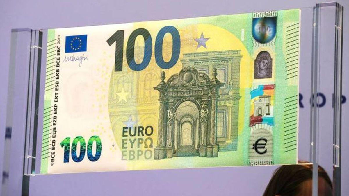 Así son los nuevos billetes de 100 y 200 euros que entrarán en circulación en mayo
