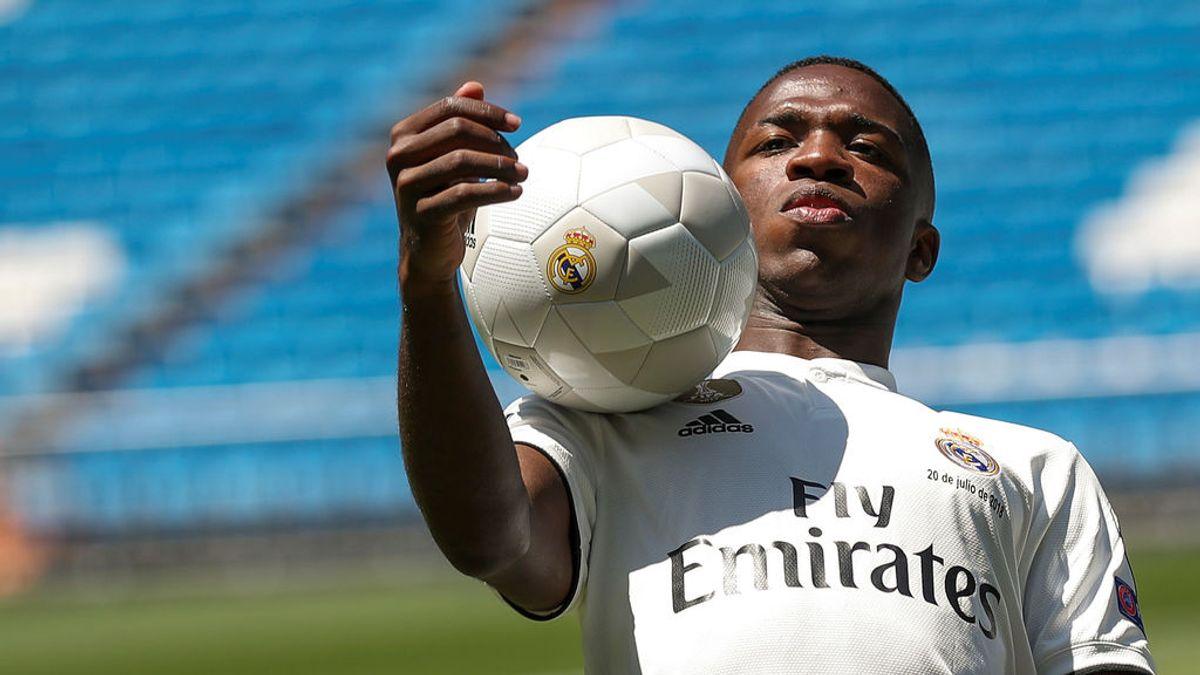 ¿Tiene que estar Vinicius en la primera plantilla del Real Madrid?
