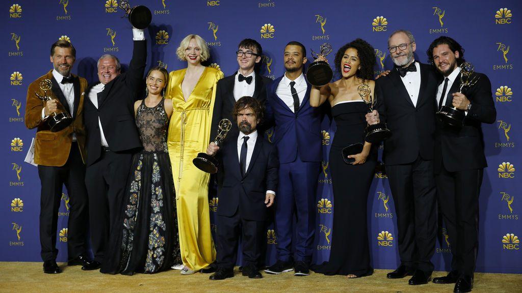 'Juego de Tronos' vuelve a triunfar en la gala de los premios Emmy