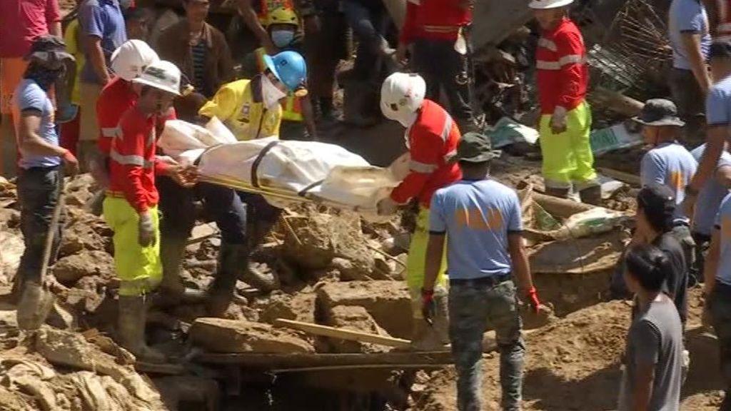 El rastro de la destrucción del tifón Mangkhut en Filipinas y China