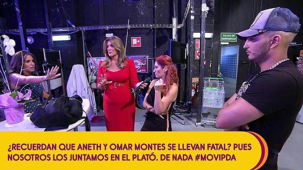 Anabel Pantoja se mosquea en directo con el novio de su prima Isa