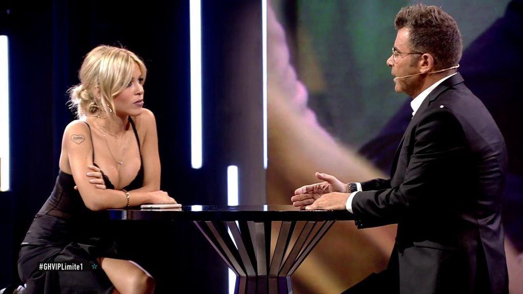 """Jorge Javier, muy duro con Oriana: """"Me daba igual que esta noche vinieses o no"""""""