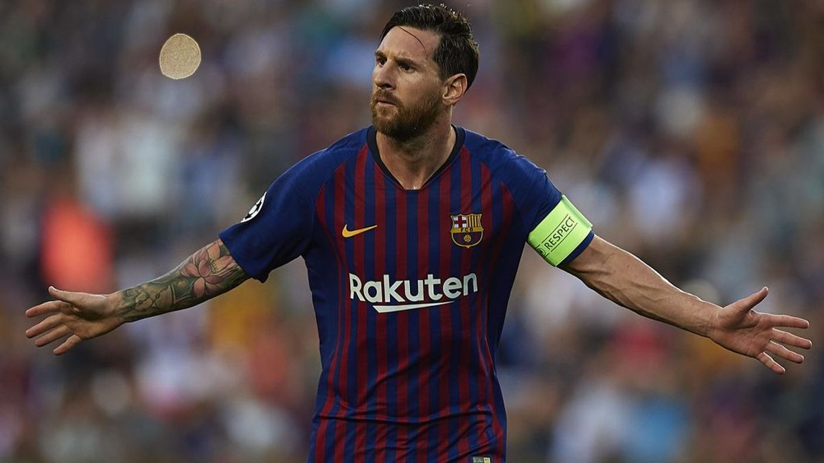 El Barça golea al PSV con 'hat-trick' de Messi para empezar la Champions (4-0)