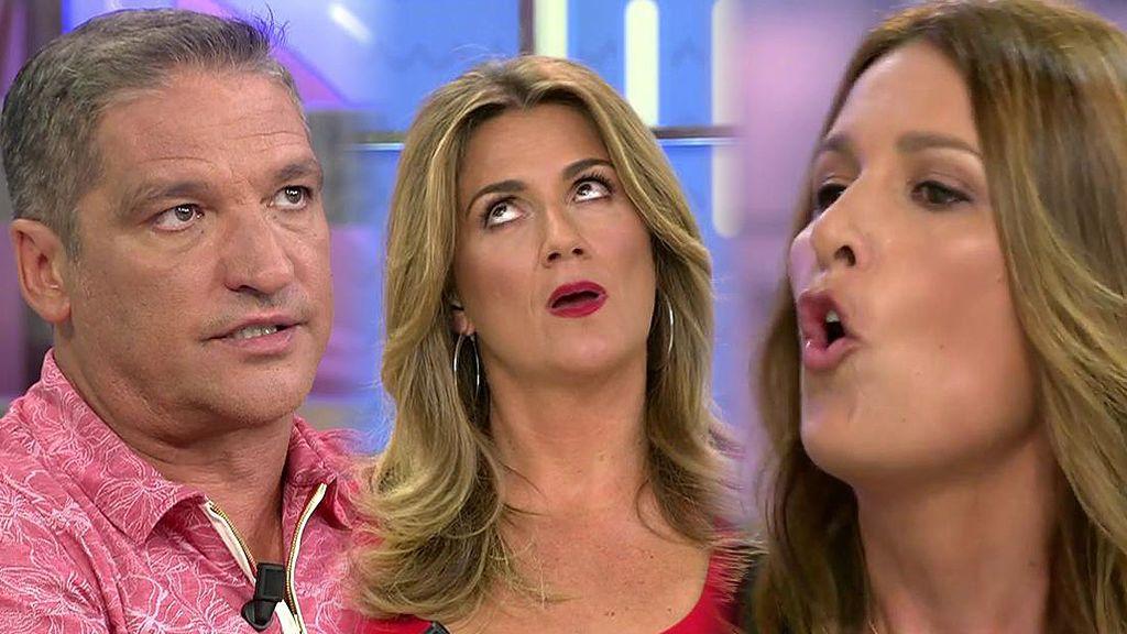 """Laura Fa, a Gustavo González: """"Tú y tu novia deberíais besar el suelo que piso"""""""