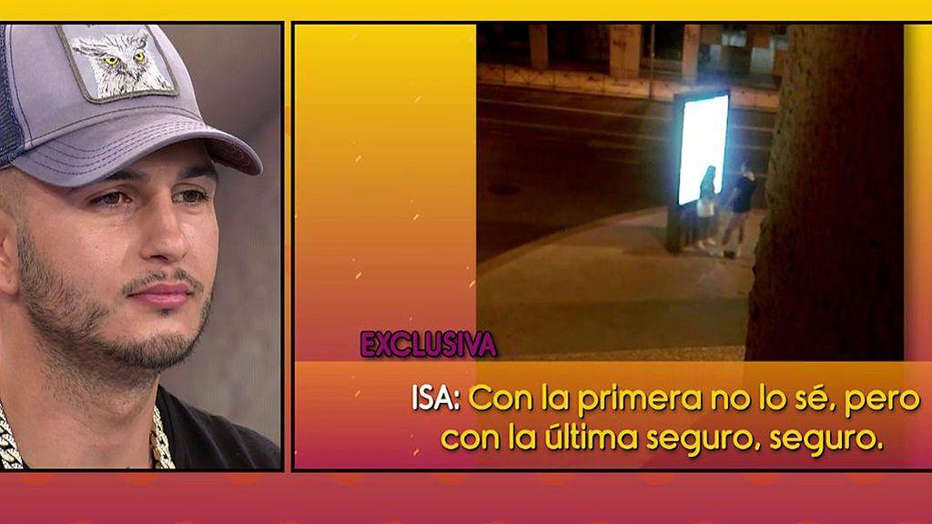 En exclusiva, el vídeo de la discusión de Isa Pantoja y Omar Montes en plena calle