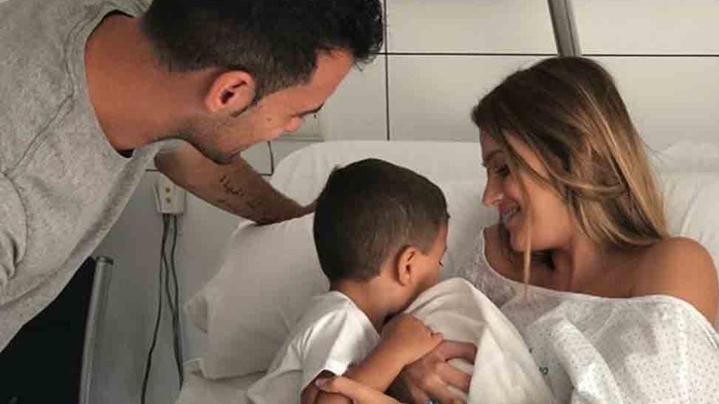 ¡Enhorabuena! Sergio Busquets y Elena Galera padres de Enzo, su segundo hijo