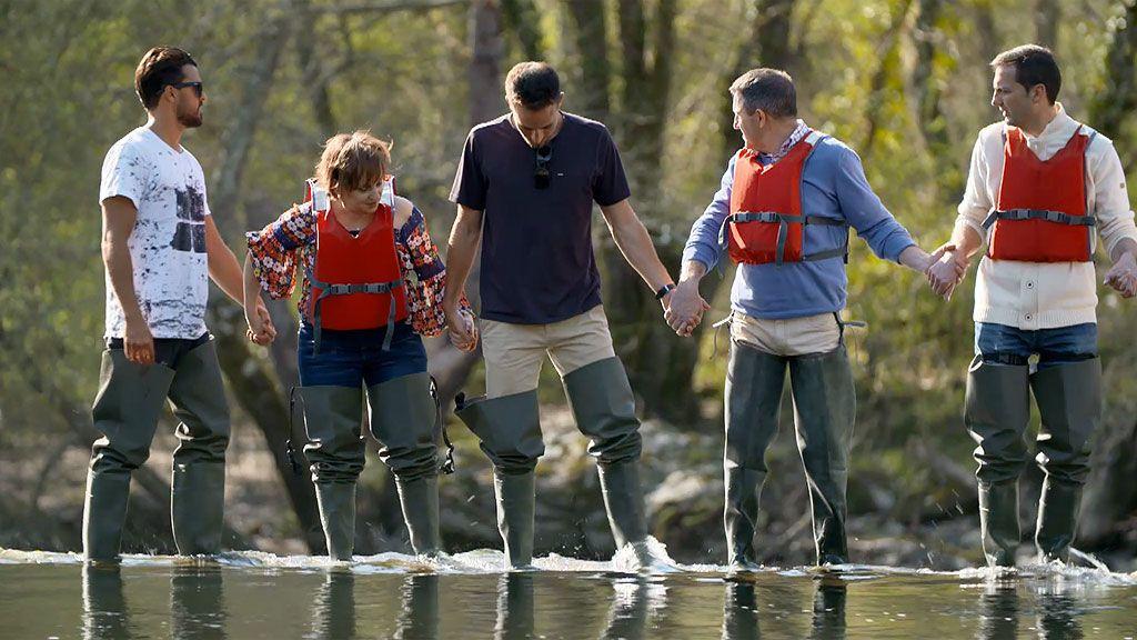 La competición de 'Bienvenidos a mi hotel' arranca a orillas del río Miño