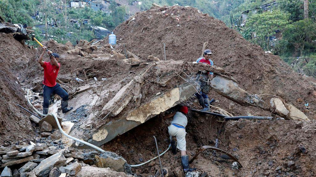 Mangkhut llegó a China y dejó 59 muertos en Filipinas