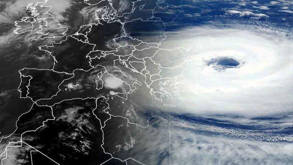 Alerta en el Mediterráneo: un huracán se podría formar en las próximas horas