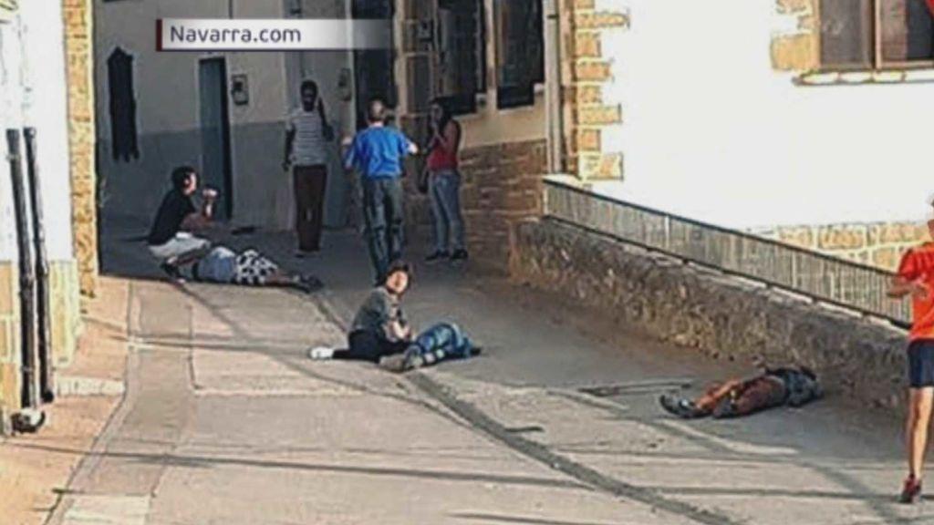 La separación de un matrimonio entre los hijos de ambas familias, el detonante del tiroteo de Cáseda