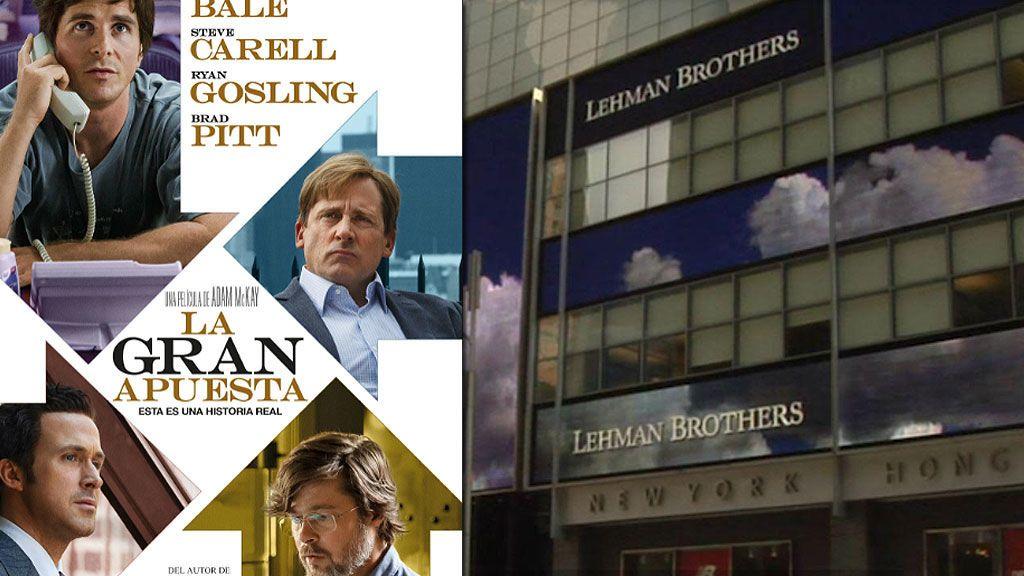 El estreno de 'La gran apuesta' y el reportaje de Josep Cuní 'Lehman Brothers. La crisis que pagamos todos', protagonistas de la noche de Cuatro