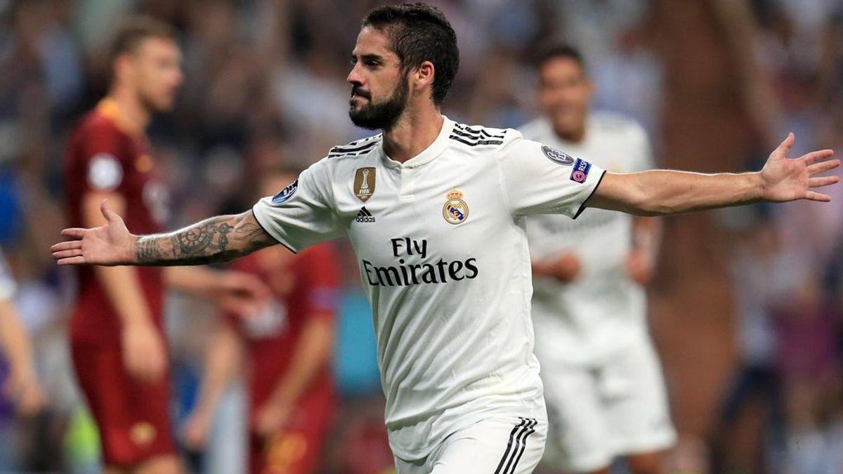 El Madrid baila a la Roma y se estrena con autoridad en la Champions