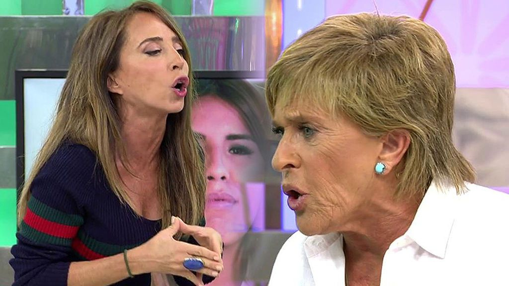 """Patiño, a Chelo García Cortes: """"Isabel Pantoja te trata como a una empleada del hogar"""""""