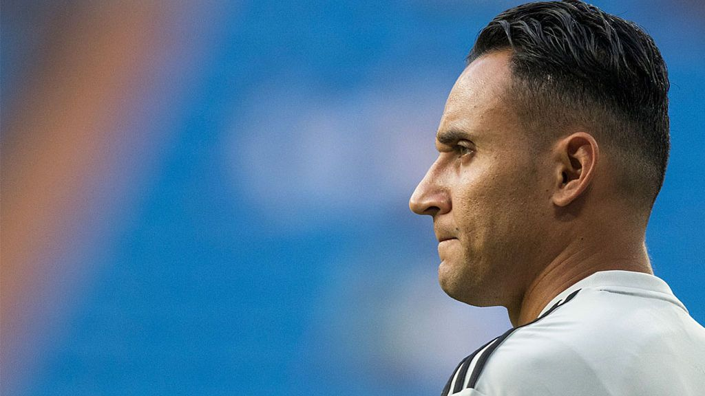 Keylor Navas, titular ante la Roma en Champions