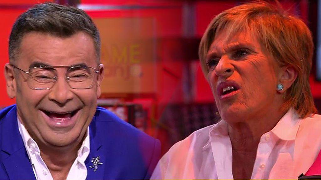 "Chelo García Cortés, a Jorge Javier Vázquez: ""¡Qué pesadito estás desde que estás tan delgado!"""