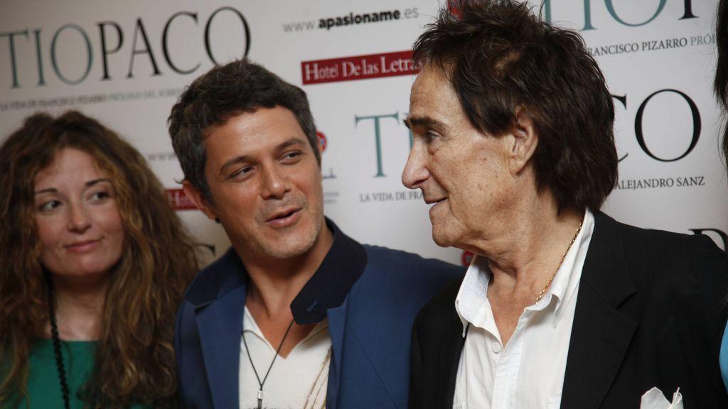 Alejandro Sanz y tio Paco