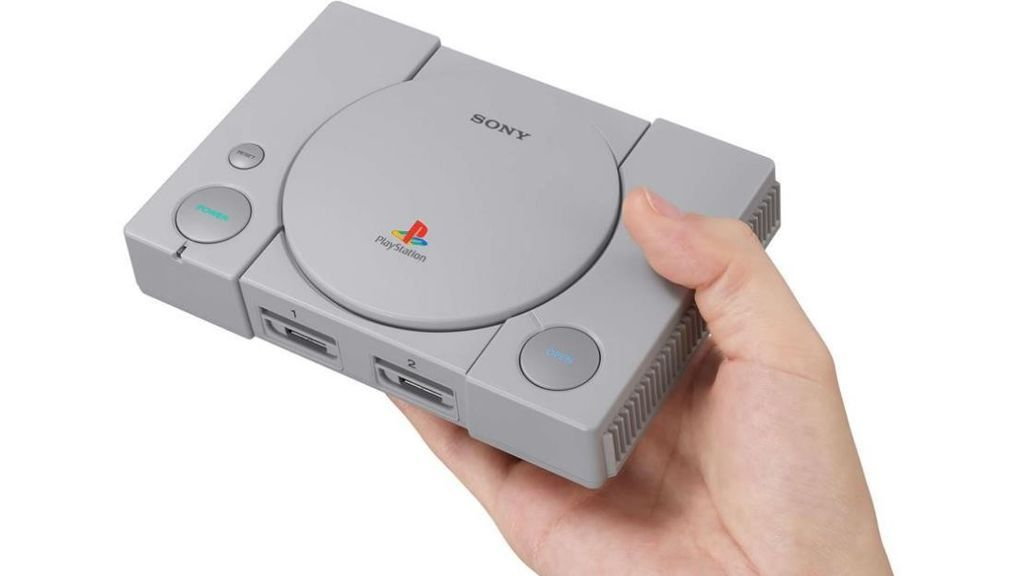 Sony lanza una edición retro de su Playstation original con 20 juegos clásicos