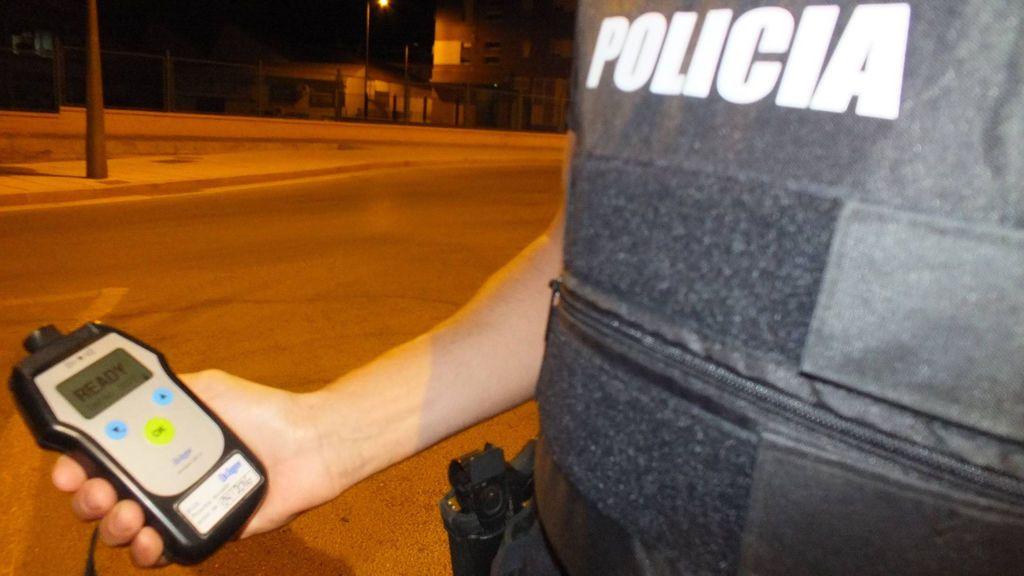 Detienen dos veces en 10 días a un conductor quintuplicando la tasa de alcohol permitida