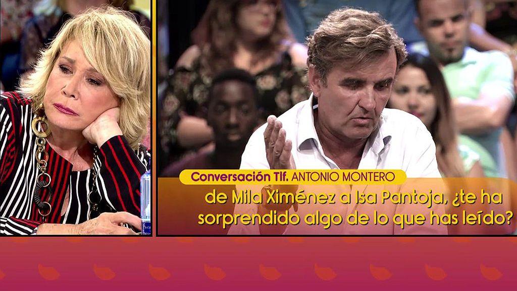 """A. Montero, de la entrevista de Mila Ximénez a Chabelita: """"Se regodea en su lucha, que ha sido encarnizada, con Isabel Pantoja"""""""