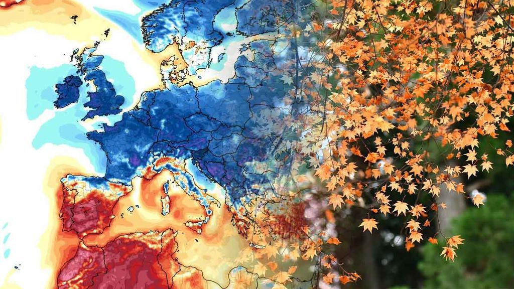 Llega una masa de aire frío polar a Europa (y nos acabará influyendo)