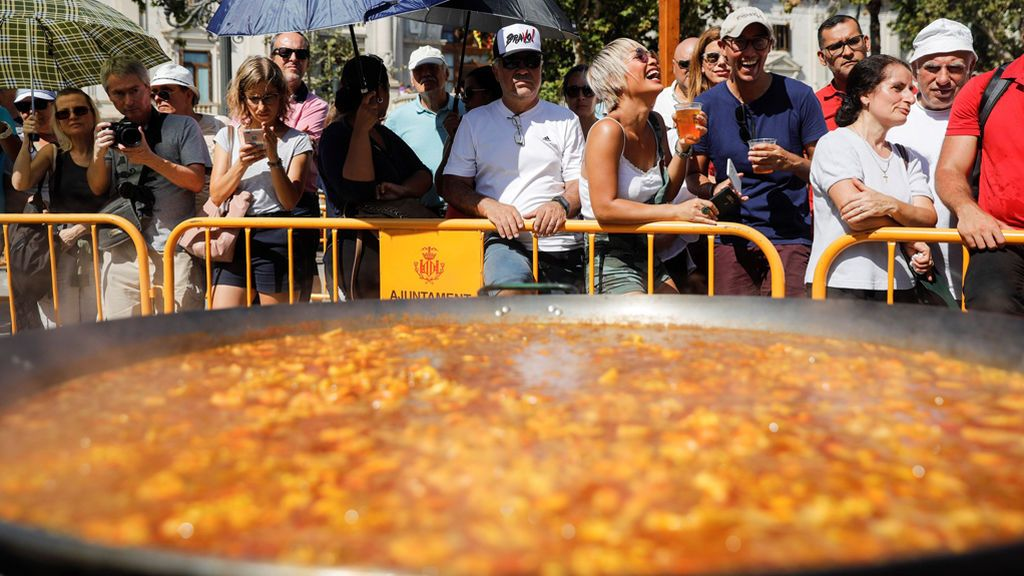 Valencia celebra el 'Día Mundial de la Paella'