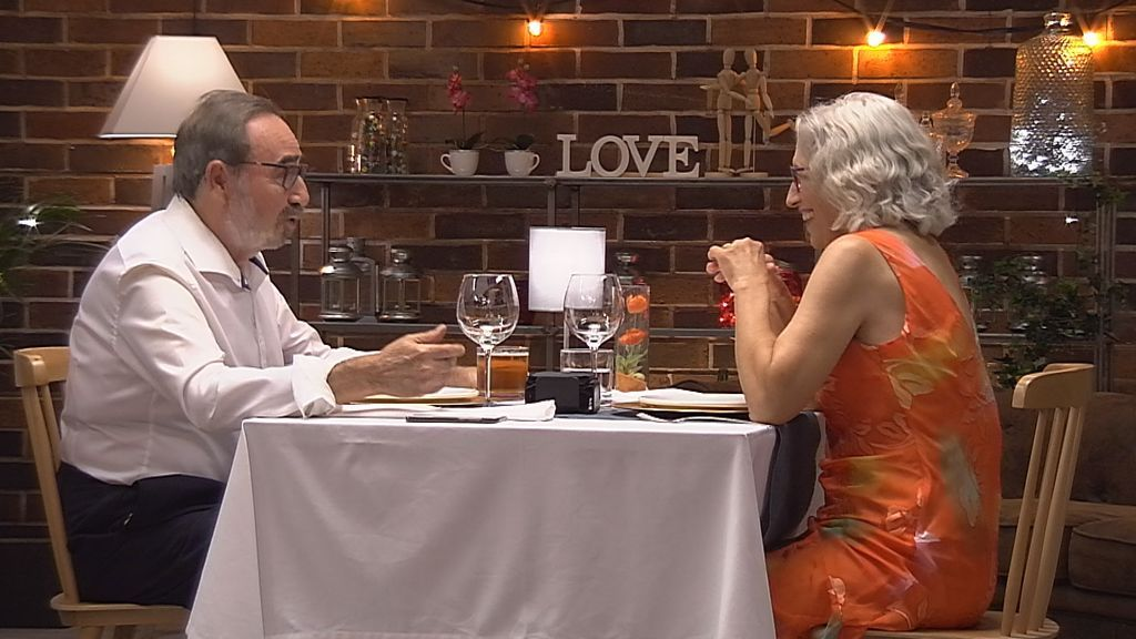 Marichi y Antonio, en 'First dates'.