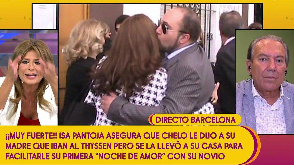 """Gema López, contra Justo Molinero: """"¿Puedes decir sobre Isabel Pantoja lo que dijiste en la entrevista previa?"""""""