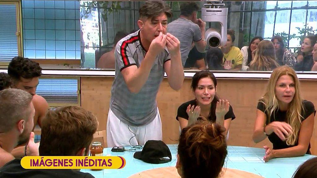 Imágenes inéditas de 'Gran Hermano VIP': ¡Ángel Garó se enfrenta a todos por la suciedad en la cocina!