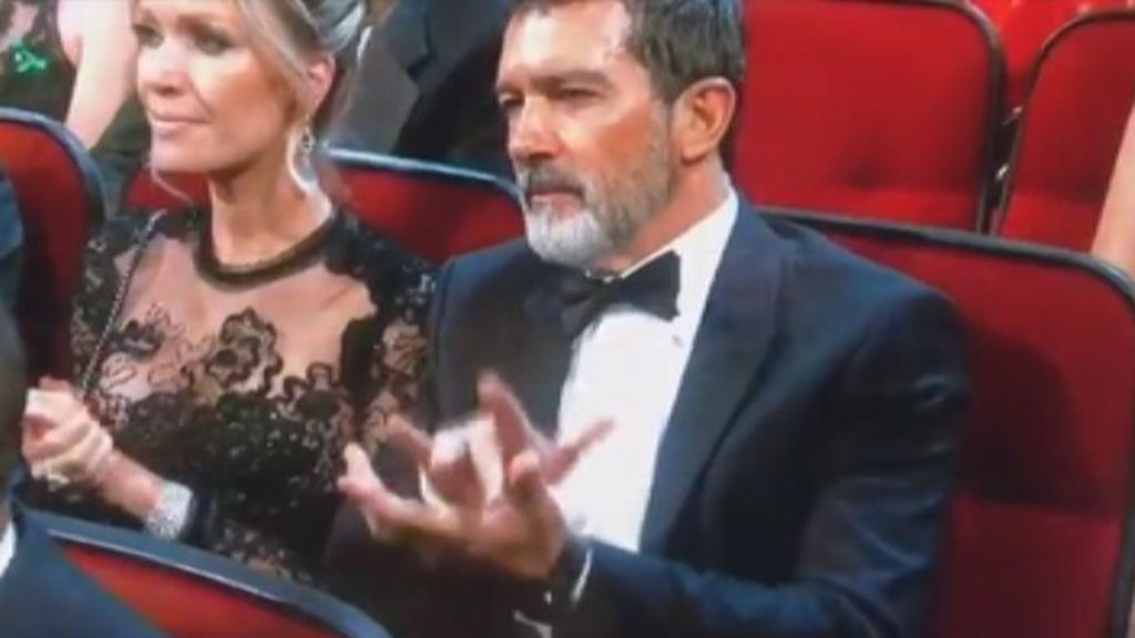 Las 'palmas flamencas' de Antonio Banderas, cuelan nuestro arte en la gala de los Emmy