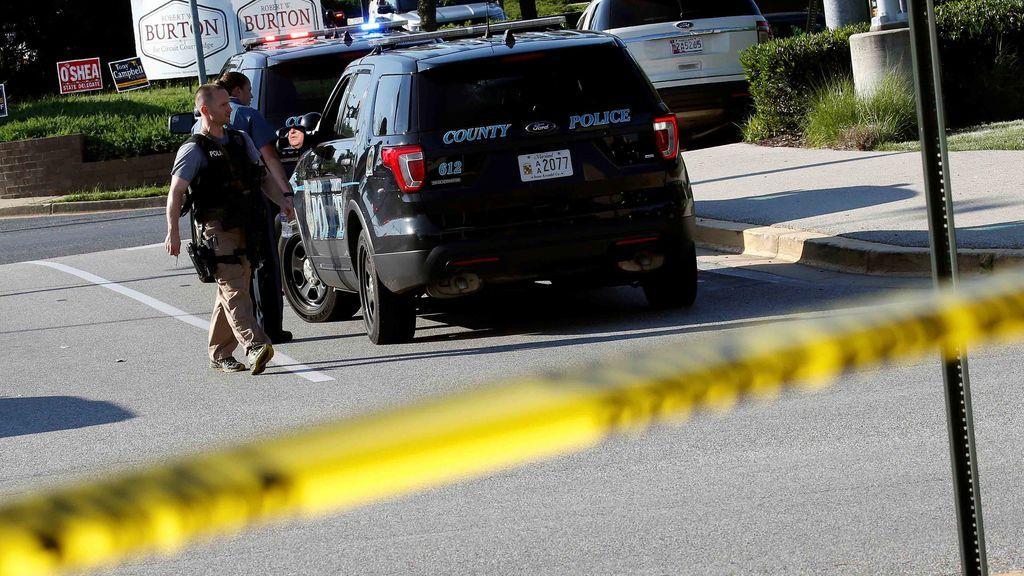 """""""Varías víctimas"""" en un tiroteo en un parque empresarial de Maryland, EEUU"""