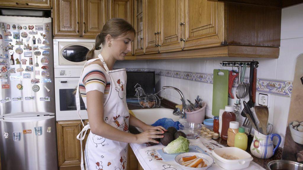 """Lucía en """"Ven a cenar conmigo"""""""