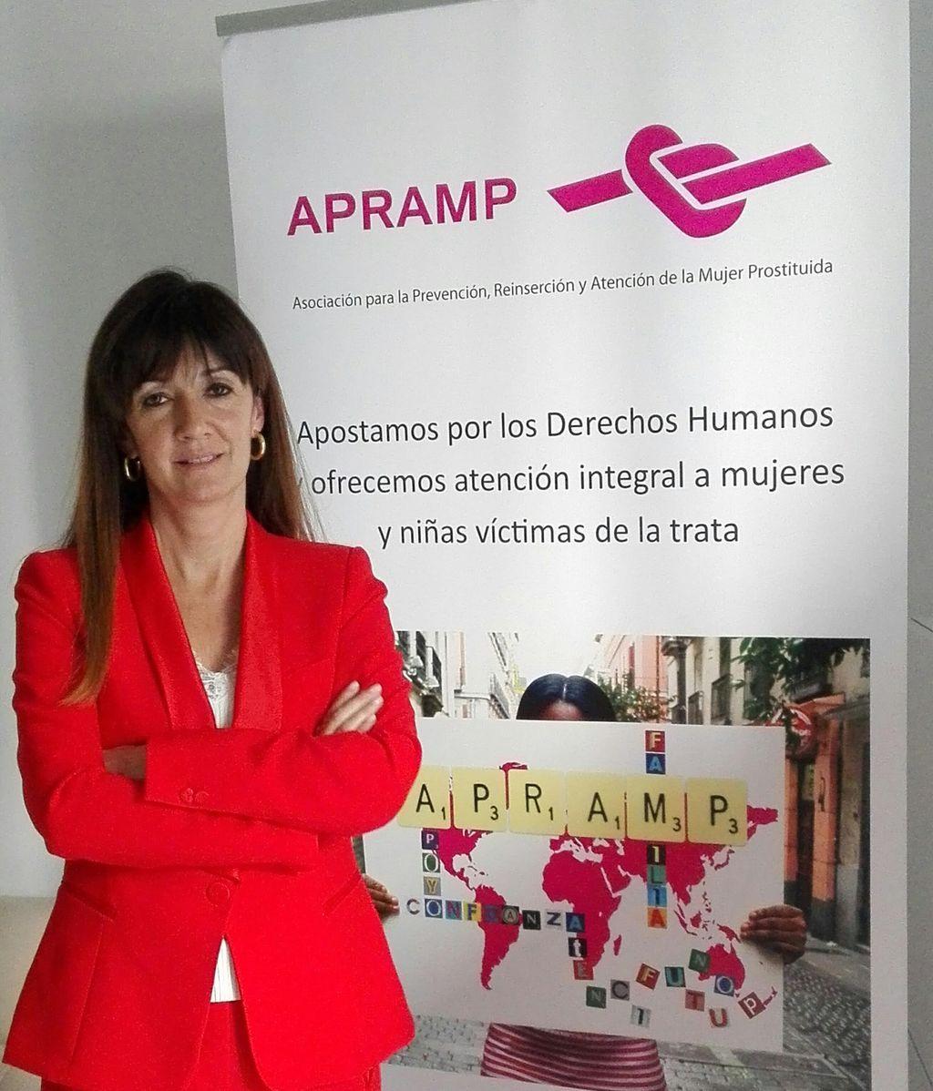"""Rocío Mora: """"Las menores víctimas de trata antes tenían 17 años y ahora vienen con 14 años"""""""