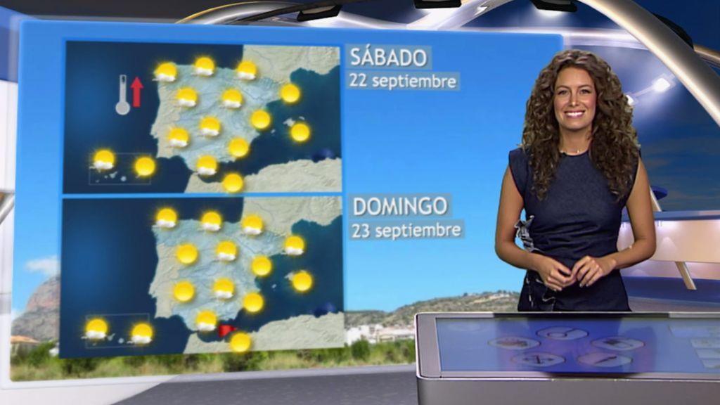 Fin de semana veraniego: el calor y el sol darán la bienvenida al otoño