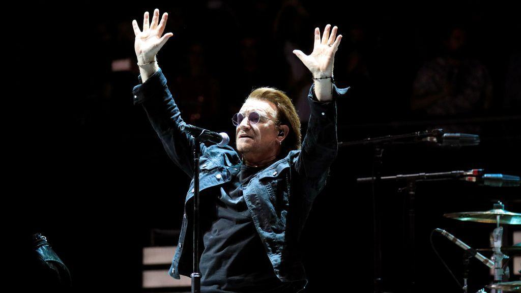 U2 regresa por todo lo alto a Madrid 13 años después