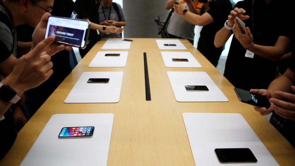 El gigante Apple supera a Samsung en la venta de 'smartphones'