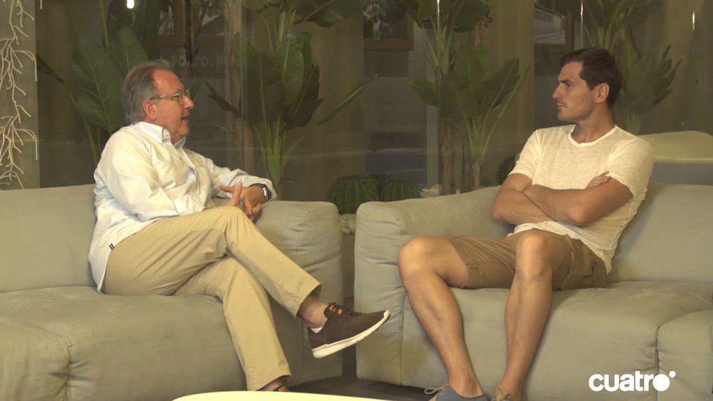 La entrevista con Iker Casillas, íntegra
