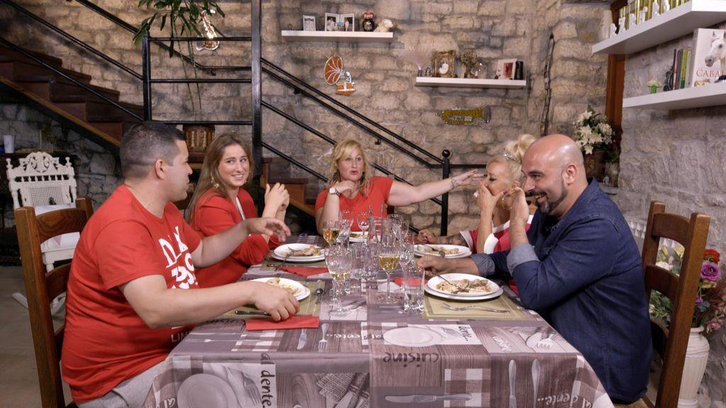 Cena de Azahara en 'Ven a cenar conmigo'